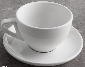 Sweese 6 Ounce Porcelain Cappuccino Cups